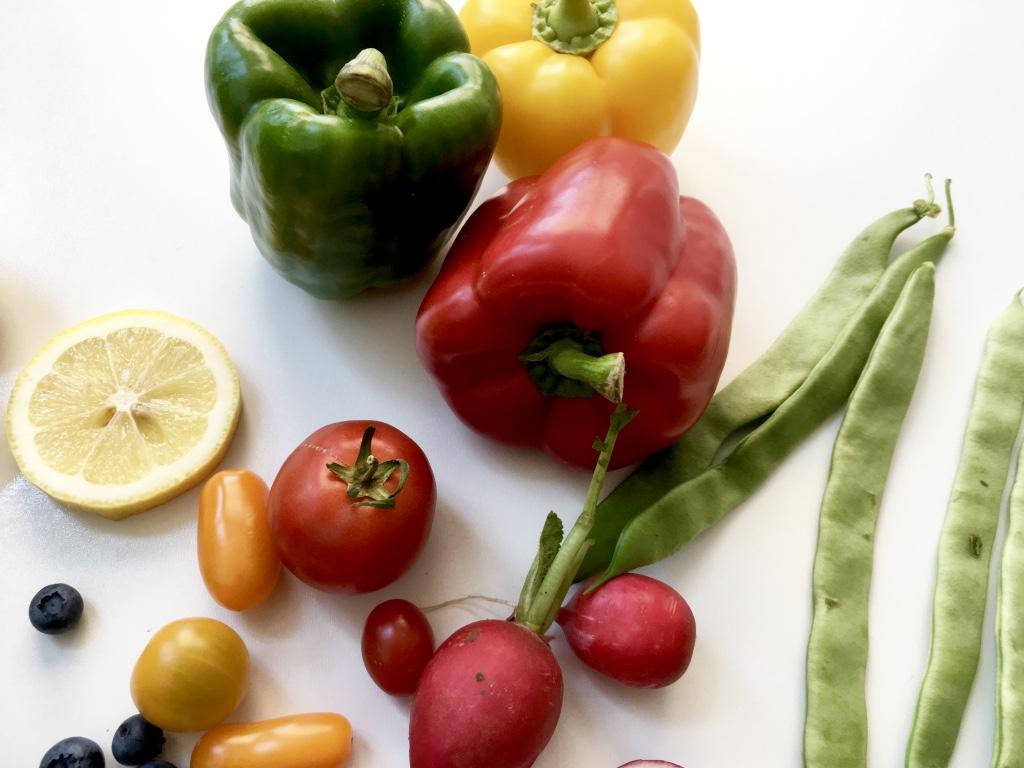 Lebensmittel für klare und strahlende Haut