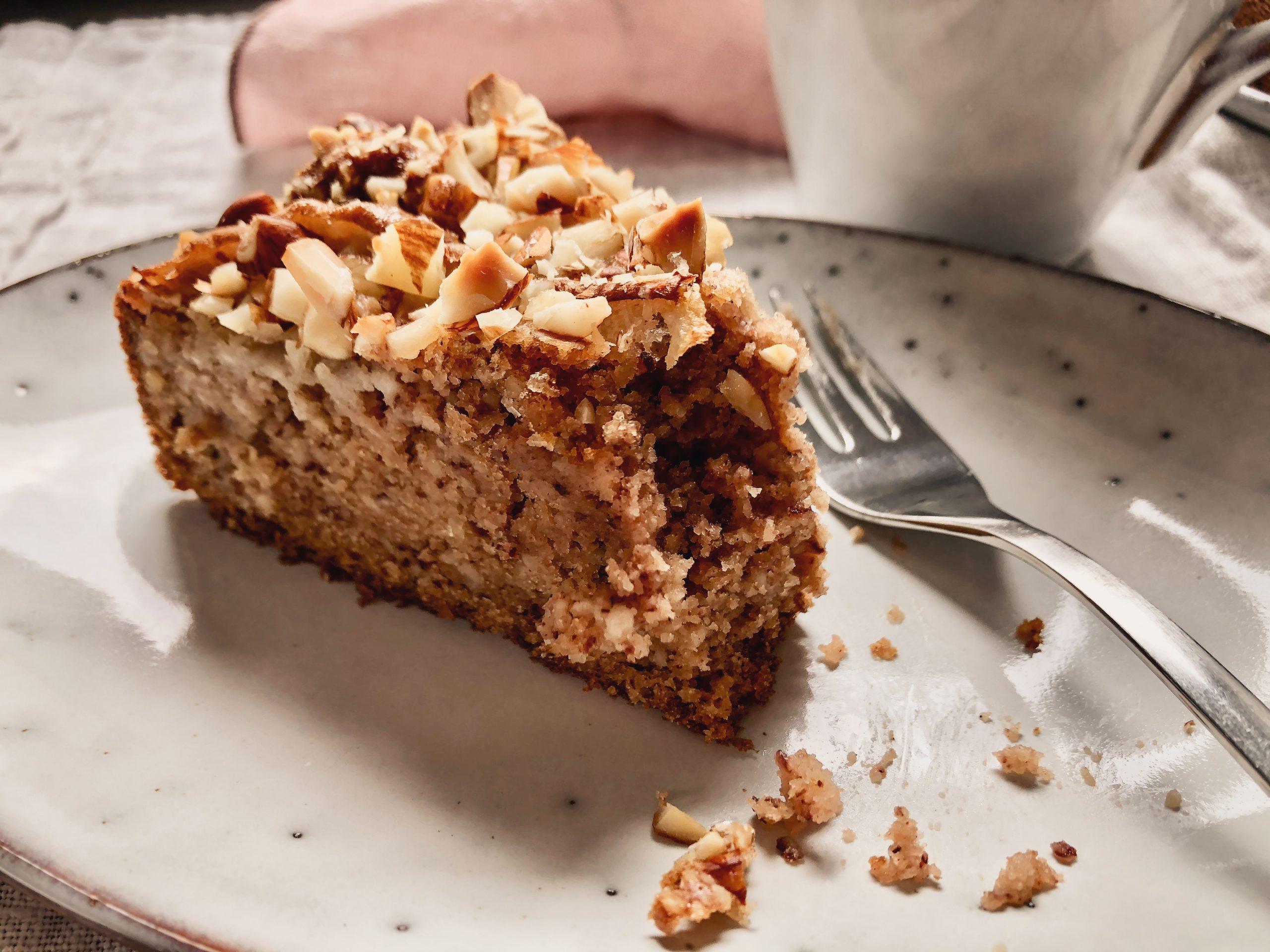 Mandel-Birnen-Kuchen