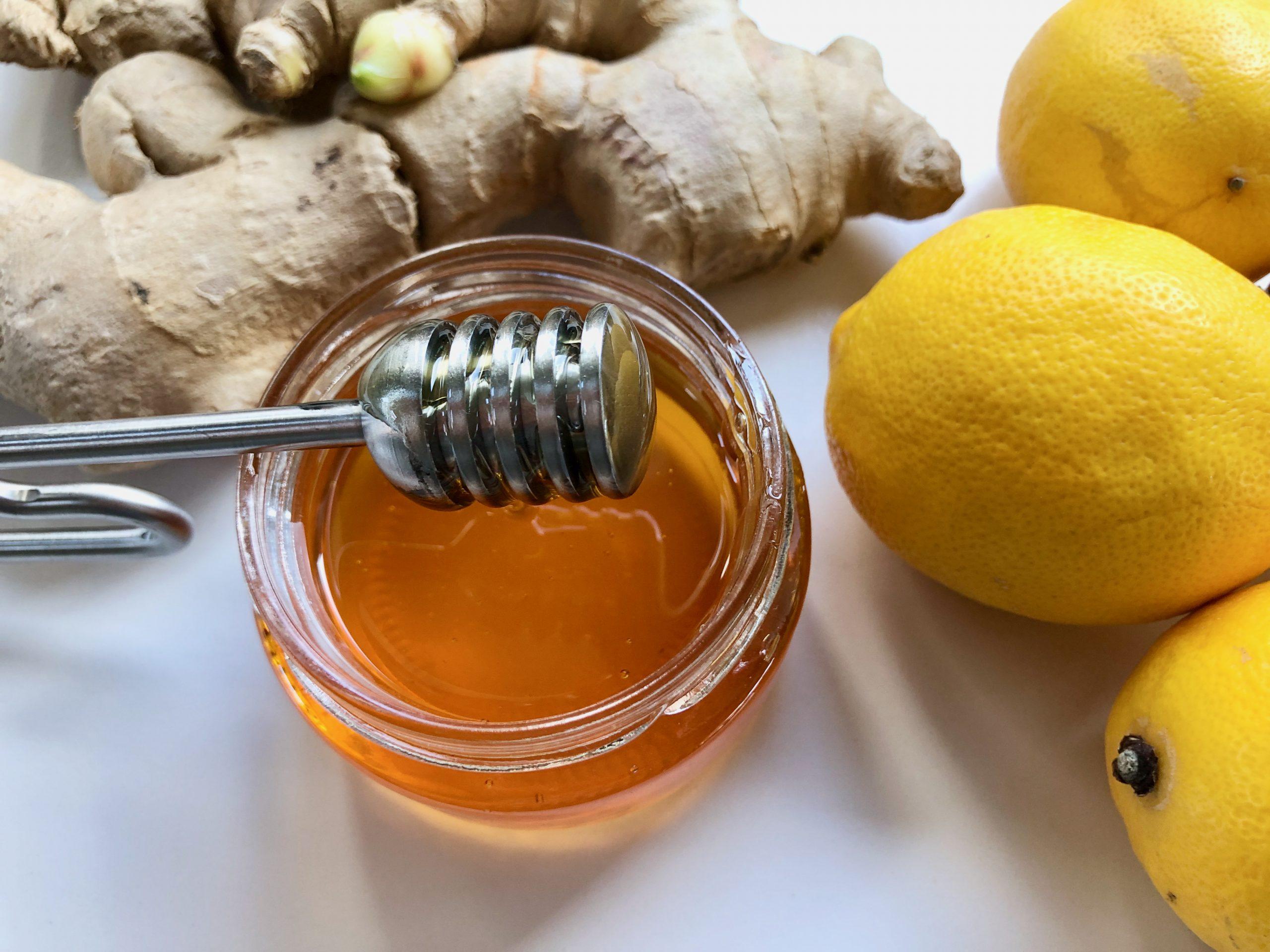 Ingwer-Zitronen-Sirup ohne Zucker